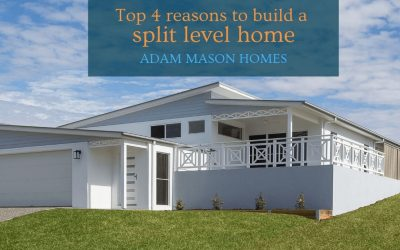 Top 4 reasons to build a split level home